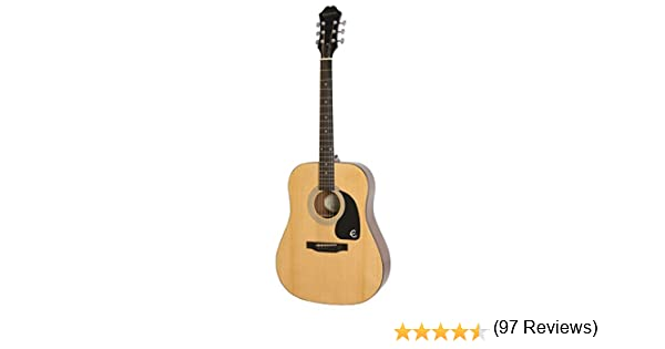 Epiphone FT-100 - Guitarra acústica, color claro (Amazon Exclusivo ...