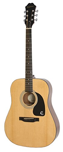 Epiphone EAFTNACH3 FT-100 Jumbo Acoustic Guitar, Natural