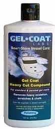 Gel Coat Labs Gel Coat Heavy Cut Compound 16oz for RV