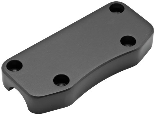 Wild 1 Chubbys Smooth Top Clamp with Exposed Mount Holes, Black WO505B