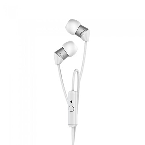 AKG Y23U Headphones, Earbuds, High Definition, in-ear, Noise Isolating, Heavy Deep Bass Universal in-line remote/microphone for answering calls iPhone, iPod, iPad, MP3 Players, Samsung Galaxy, Nokia
