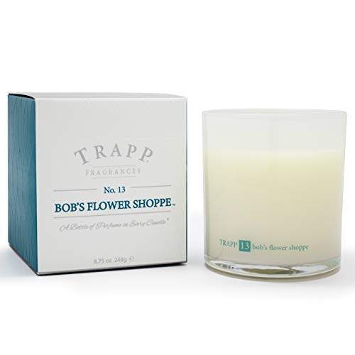 Trapp Ambiance Collection No. 13 Bob's Flower Shoppe Poured Scented Candle, ()