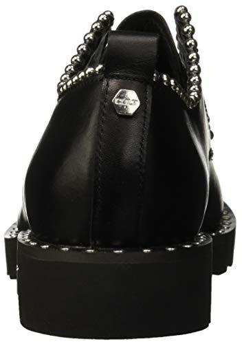 Negro Derby Low Zeppelin Zapatos black Cordones Para De Cult 999 2664 Mujer wBzTYqnzx5