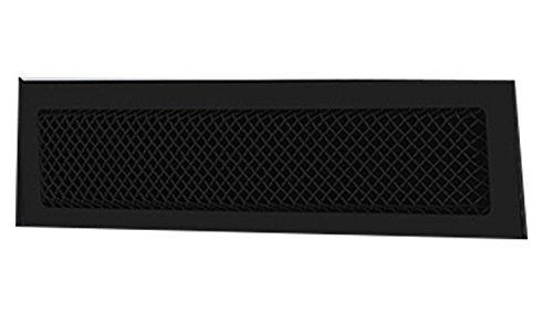 (T-Rex 52122 Upper Class Black Overlay Bumper for Chevrolet Silverado HD)