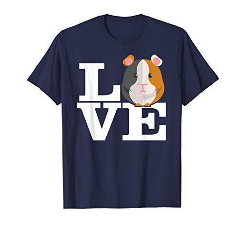- Guinea Pig Love Pet T-Shirt