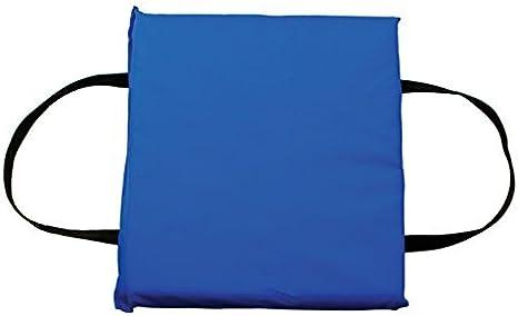 BOAT MARINE TYPE IV USCG APPROVED THROWABLE  THROW FLOATATION FOAM CUSHION BLUE