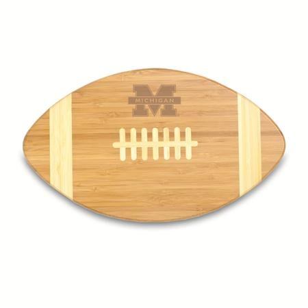 NCAA Michigan Wolverines Touchdown! Bamboo Cutting Board, 16-Inch (Professional Football Ncaa)