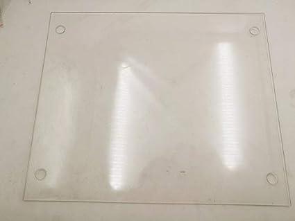 HEASEN - Plato de cristal de borosilicato de 310 mm x 370 mm ...