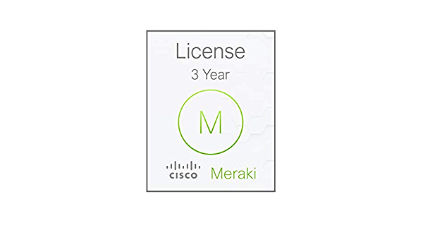 3 Years Electronic Delivery Meraki MX100 Enterprise License and Support