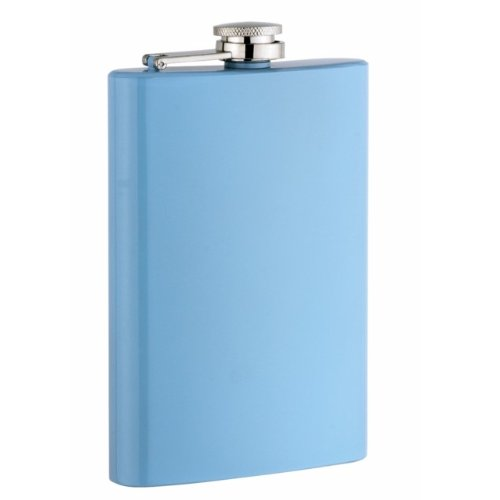 Baby Blue Flask - 1