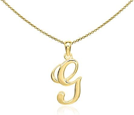Sea Ice Sterling Alphabet Necklace product image