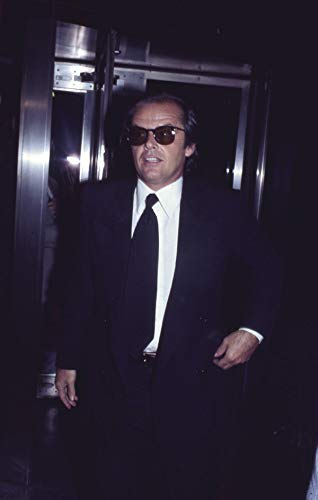 Jack Nicholson Iconic Looking Candid Image in Sunglasses Original 35mm Slide from Silverscreen