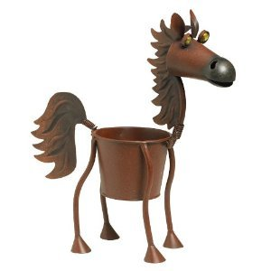 Fireball the Horse indoor or outdoors (garden) décor plant stands. Holds 4