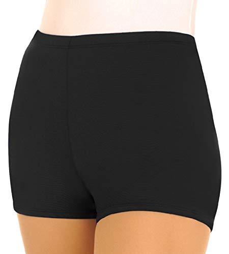 Body Wrappers Womens BOY-CUT BRIEF 205 -BLACK XL ()
