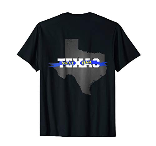 Texas SWAT Team SRT Police T-Shirt for LEO Off Duty Cops Law