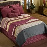 Donna Sharp Twin-Size Duvet Covers - Painted Canyon-Desert Star-Southwest Square-Turquoise Desert (Painted Canyon)