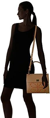 Orla Kiely Laced Stem Leather Cicely Bag