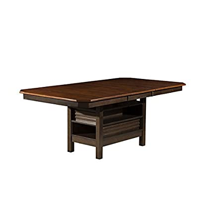Amazon Com Alpine Furniture Davenport Dining Table Tables