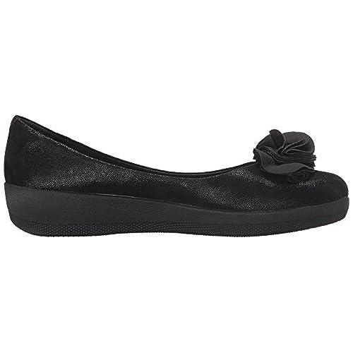 Florrie Superballerina Chaussures Fitflop Femmes - Noir Glimmer outlet