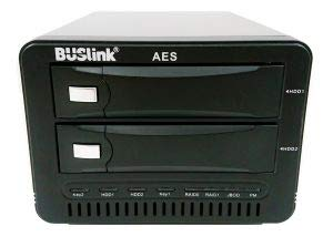 CipherShield 2-Bay RAID 1 Mirror USB 3.0/eSATA FIPS 140-2 HIPAA 256-bit AES Hardware Encrypted External Desktop Hard Drive (28TB)