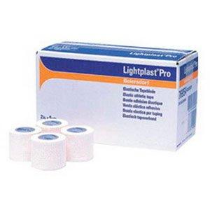Lightplast Pro Elastic Adhesive Tape 1-1/2'' x 5 yds. [Case of 32] by BSN Jobst Leukotape