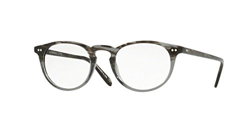 Oliver Peoples - Riley-R 47 5004 - Eyeglasses (STORM (STRM), - Peoples Mens Frames Oliver