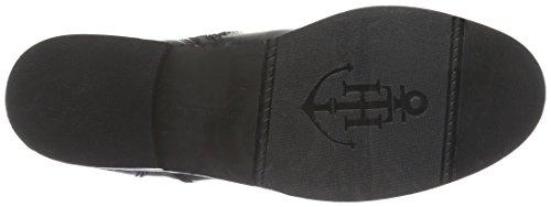 Tommy Hilfiger P1285olly 2a, Zapatillas de Estar por Casa para Mujer Negro - Schwarz (Black 990)