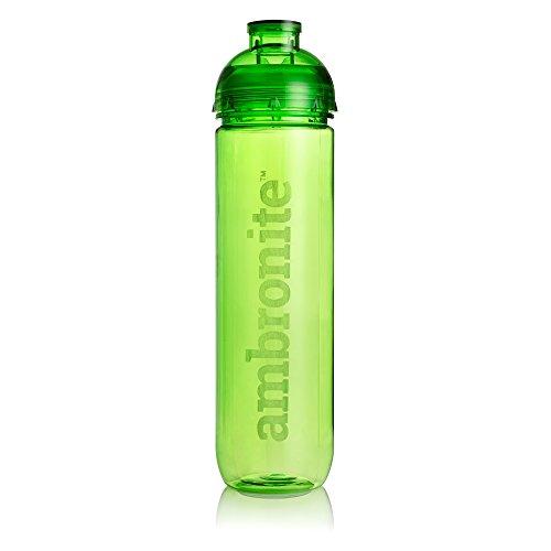 Ambronite Green Shaker Bottle, 20 oz