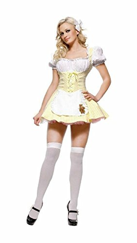 Fairy Tale Goldilocks Costume - X-Small - Dress Size 0-2 (Haloween Costume Ideas For Couples)