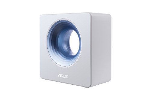 ASUS Blue Cave AC2600 Dual-Band Wireless Router for Smart Homes, featuring Intel WiFi Technology and AiProtection network security powered by Trend Micro, Works with Amazon Alexa