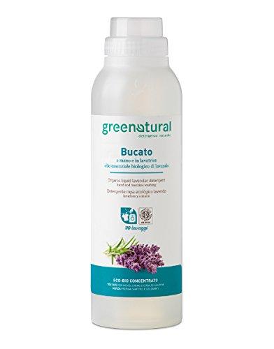 Detergente ropa lavanda lavadora y a mano Greenatural, 1 L: Amazon ...