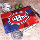 """Memory Company NHL Montreal Canadiens 8"""" X 11.75"""" Carbon Fiber Cutting Board, One Size, Multicolor"""