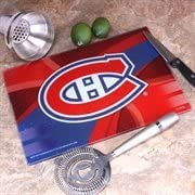 """Memory Company NHL Montreal Canadiens 8"""" X 11.75"""" Carbon Fiber Cutting Board, One Size,"""