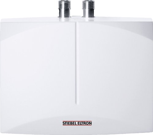 STIEBEL ELTRON DEM 3, elektronisch geregelter Mini-Durchlauferhitzer, 3,5 kW, drucklos und druckfest für Handwaschbecken, 231001