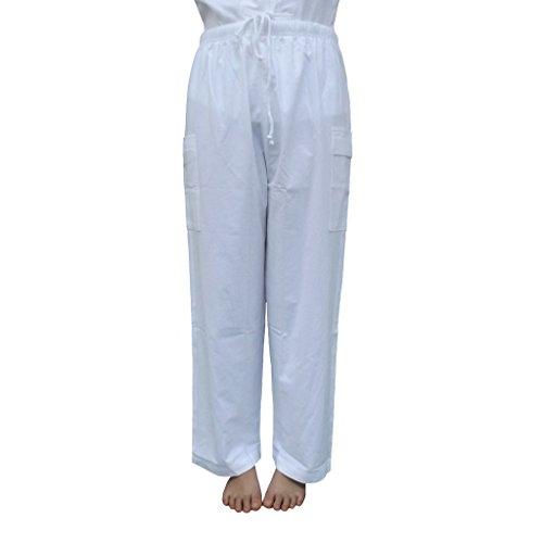 Malime Women's Meditation Pants XX-Large White