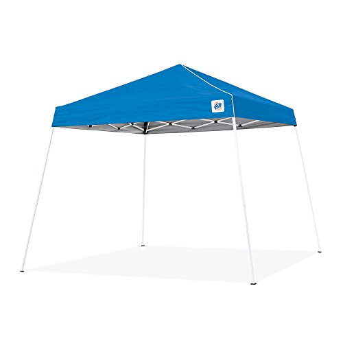 9' Blue Canopy Tent - E-Z UP Swift Instant Shelter Pop-Up Canopy, 12 x 12 ft Blue