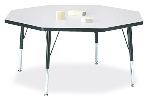 Berries 6428JCT180 Octagon Activity Table, T-Height, 48
