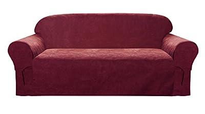 Elegant and Comfortable P&R Bedding Microsuede Sofa Furniture Slipcover
