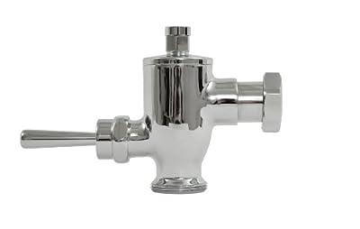 TOTO TMU1NNC Exposed 1.0 GPF Urinal Nonhold Flushometer Valve, Chrome