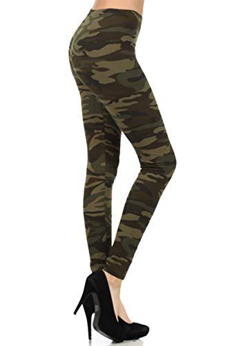 N021-OS Camouflage Army Print Fashion Leggings