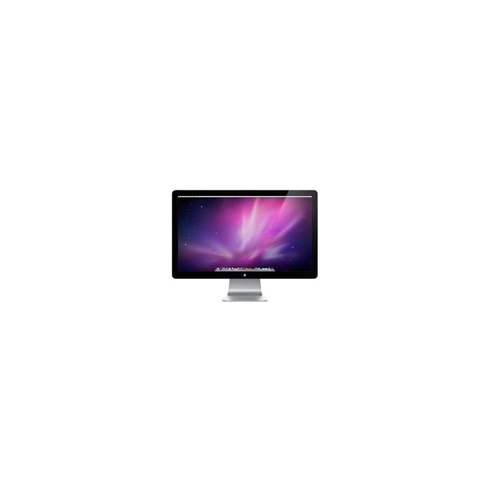 APPLE COMPUTER, Apple MC007LL/A 27 LED LCD Monitor   169   12 ms (Catalog Category Computer Technology / Computer Displays)