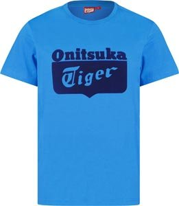 Asics Tiger Logo I T-Shirt L direction blue