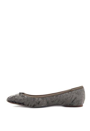 Women's Grey London Rag Ballet Flats Yn5BSq