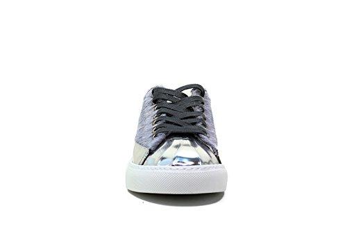 2016 zapatillas nuevo de las invierno Blauer 2017 6FWOCUPTOE deporte L bajo EQU tacón nbsp;GRIS otoño de mujer LUZ OEYHaS