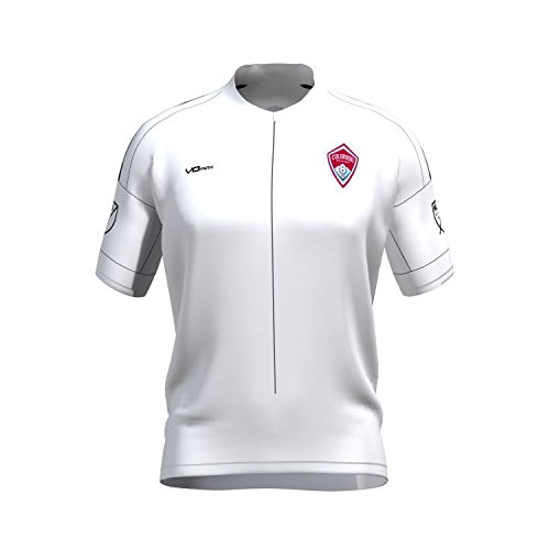 UPC 888778090351, Colorado Rapids Keeper White Short Sleeve Cycling Jersey