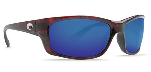 Costa Del Mar Sunglasses - Jose- Glass / Frame: Tortoise Lens: Polarized Blue Mirror Wave 400 Glass ()