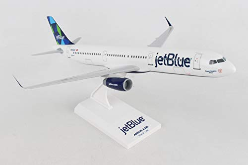 (Daron SkyMarks SKR778 JetBlue Airlines Airbus A321 1:150 Scale New Livery Prism Tail Display Model)
