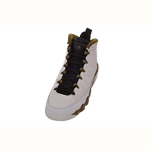 Jordan 9 Retro Bg Große Kinder Weiß / Militärgrün