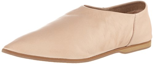 Selected Femme Sfalea Pointy Leather Slipper, Mocasines para Mujer, Beige (Nude), 36 EU Selected