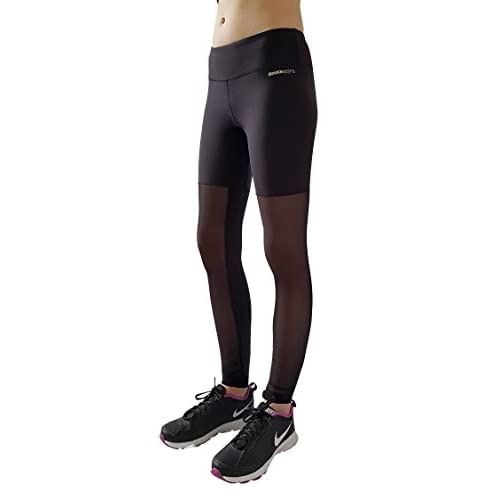 e4d5abbc7f738c Deuce Sports Tango Womens Black Workout Pants | Slimming Yoga Leggings With  High Waist | Skin